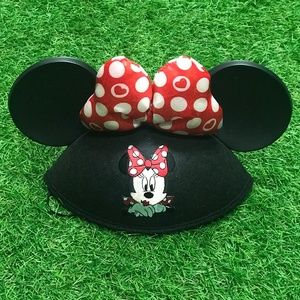 Minnie Mouse Glitter Ears Hat